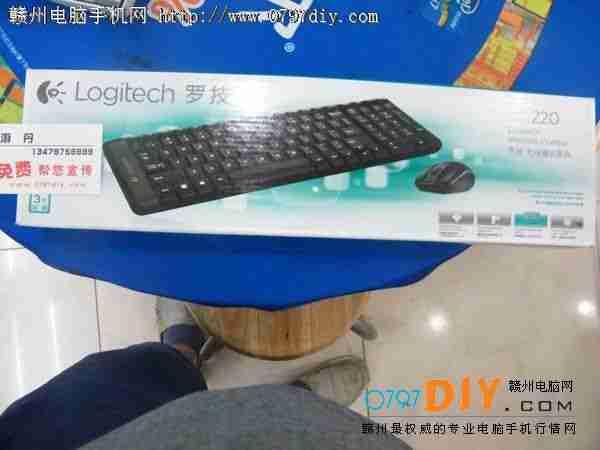 亿客隆彩票网站罗技键鼠套装 MK220促销仅108元