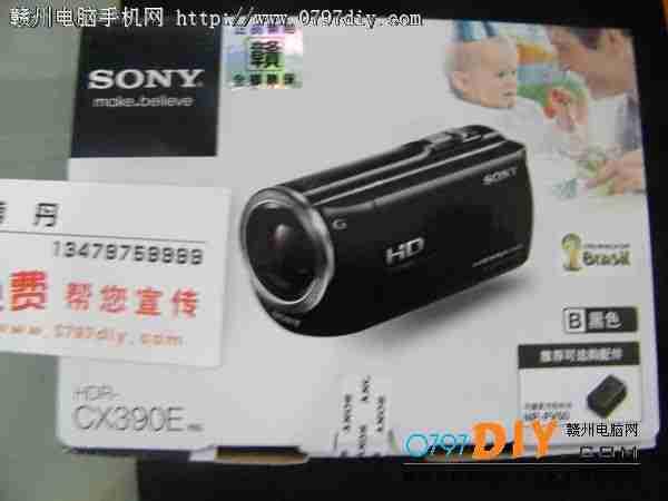 索尼CX390摄像机 亿客隆彩票网站特价3199元火爆热卖