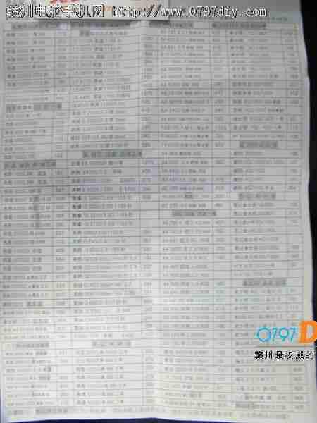 2013年8月22日亿客隆彩票网站盛威CPU 硬盘 内存报价